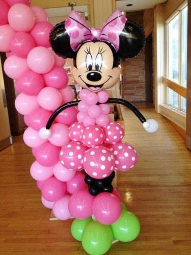 Decoración Con Temática Minnie Mouse Agencia De